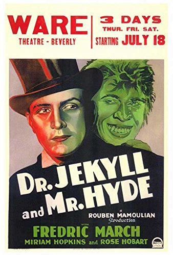Dr. Jekyll and Mr. Hyde (B) POSTER (27