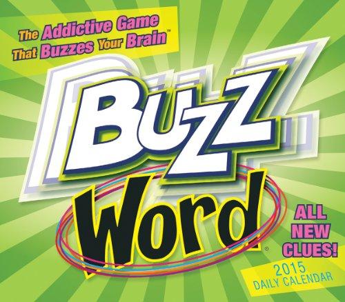 Buzzword® 2015 Boxed Calendar