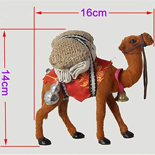 Ochoos ハンドメイドクラフトキャメル/キッズおもちゃキャメル 鮮やかでリアル 理想的なホームデコレーションと子供用ギフト 16514 cm B07NSC1FPM