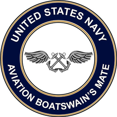 Magnet US Navy Aviation Boatswain's Mate AB Military Veteran Served Vinyl Magnet Car Fridge Locker Metal Decal 3.8