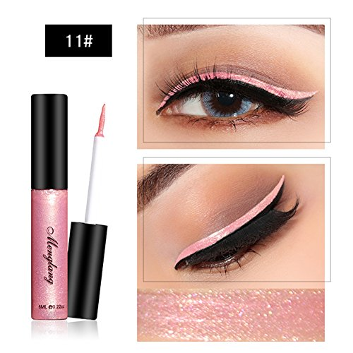 Glitter Liquid Eyeliner Highlighter Brightening Sparkly Eyeliner Liquid