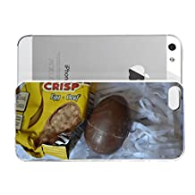 iPhone 5&5S cover case CoffaeCricp Food Punk Ode To The Cadbury Creme Egg Happy Easter
