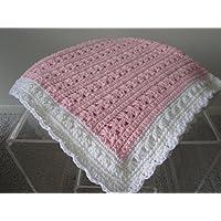 New Hand crochet Baby Girl Blanket
