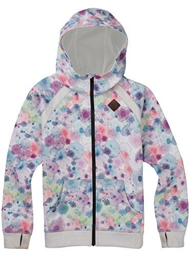 Burton Girls Scoop Full-Zip Hoodie, Drip Dye, Large