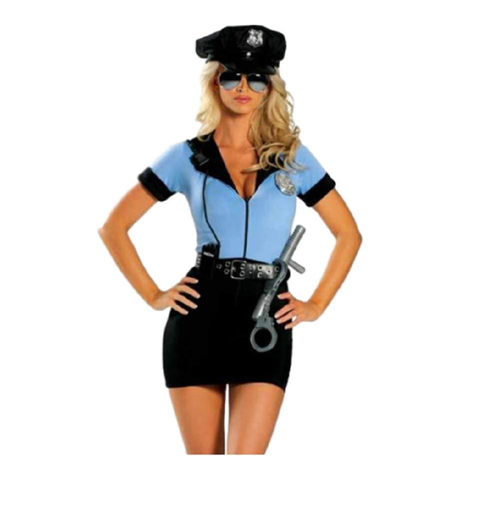 Top Totty Disfraz de policía Sexy de Lisa para Halloween: Amazon ...