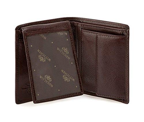 Italy de x grain 44 21 Matériel 009 Wittchen Couleur Collection Cuir Marron Portefeuille Taille 5 Verticale Orientation 9 11 CM 1 RYqRXnza