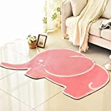 HOMEE Lovely princess pink carpet bedroom bedside blanket baby children's room crawling mat cartoon foot pad,1-100150Cm