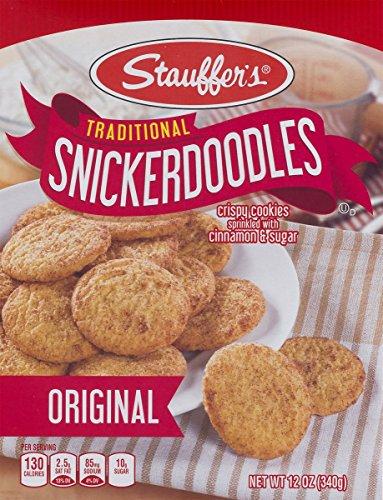 Stauffers Original Snickerdoodles 12 oz. Box (2 Boxes)