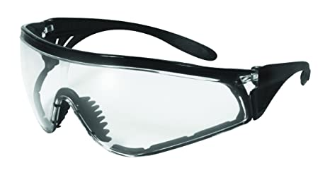 19878873d7d Image Unavailable. Image not available for. Color  SSP Eyewear No Tears  Chef Shades with Black Frames and Clear Anti-Fog Lenses
