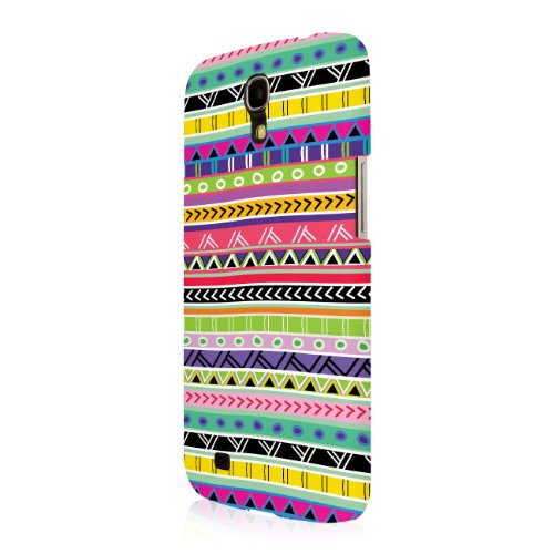 (Empire Signature Series Slim-Fit Case for Samsung Galaxy Mega 6.3 - Retail Packaging - Aztec Fiesta )