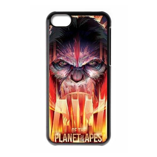 Dawn Of The Planet Of The Apes RI57ED5 coque iPhone Téléphone cellulaire 5c cas coque I7JS4X5DK