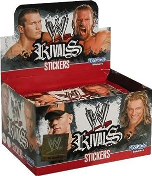 50 Tüten Topps // WWE Rivals  Sticker