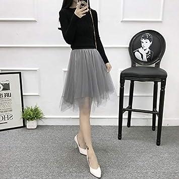 DWWAN Falda Corta Faldas de Tul Moda para Mujer Elástico ...