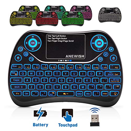 7 keyboard with touchpad - 1