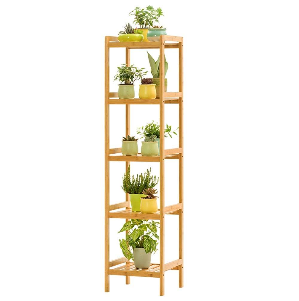 all'ingrosso a buon mercato QXX QXX QXX Flower Frame Pavimento in Legno massello Indoor multipiano Balcone Living Room Fleshy Flower Pot Rack Scaffale per Fiori verde (colore   colore del Legno, Dimensioni   L.)  garanzia di qualità
