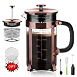 Upgraded French Press Coffee Maker Stainless
