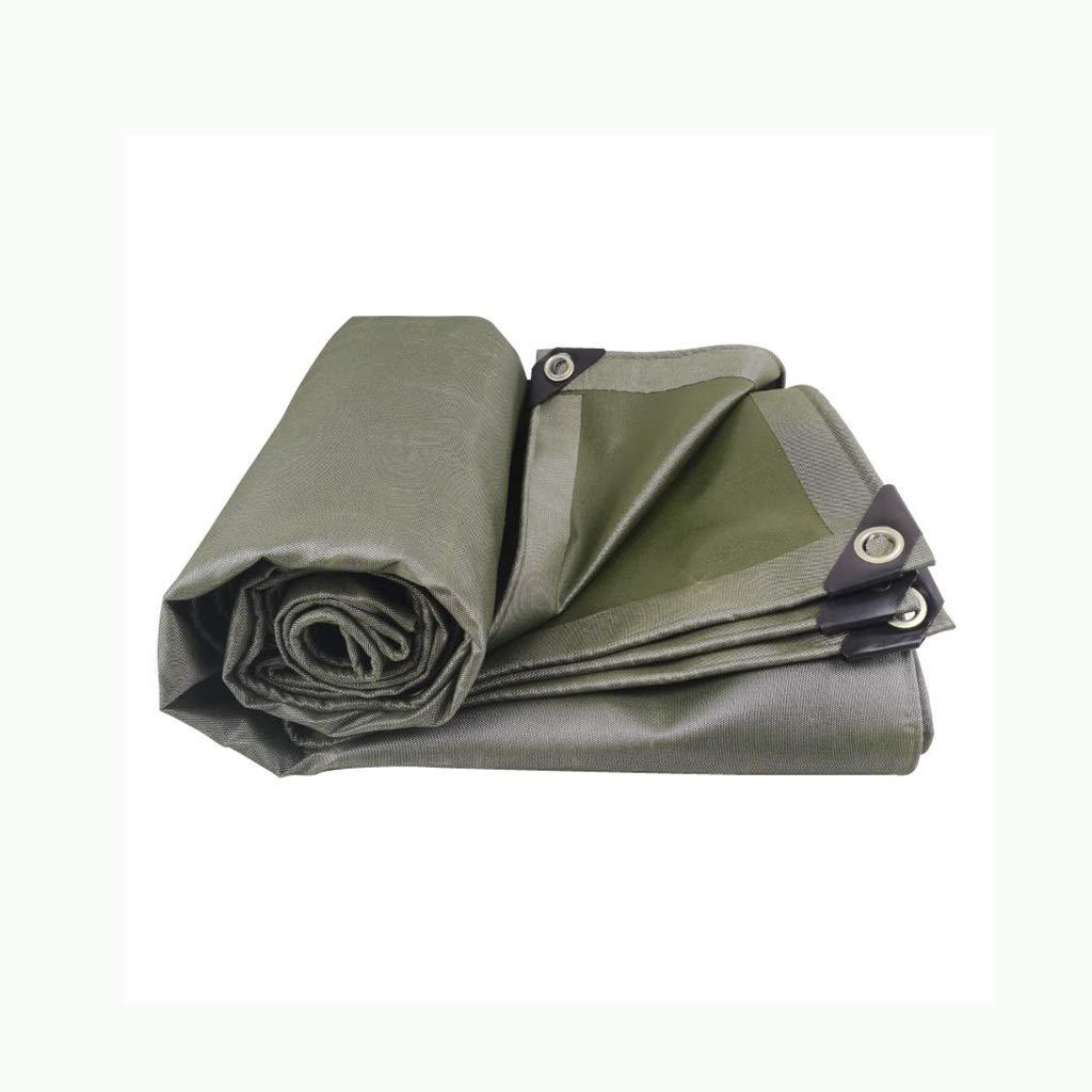 Qualité Premium Tissu Oxford Imperméable BÂche Avable Résistante Aux UV Ripstop Tarp Couverture De Bateau Housse Table De Jardin Olive (Taille   3m5m)  3m5m