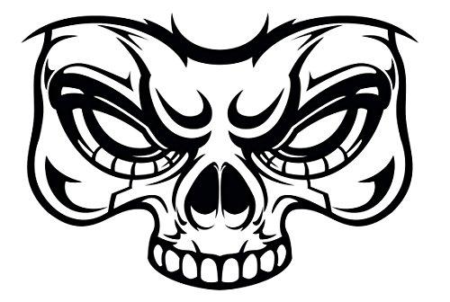 Scary Intense Halloween Masks Vinyl Decal Sticker (8