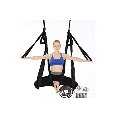 Amazon.com : LML Aerial Yoga Trapeze,Aerial Yoga Swing Set ...