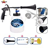 Fochutech High Pressure Car Cleaning Gun, Car Wash Kit - Car Cleaning Foam Gun with 1L Foam Bottle, Spray Nozzle Car Wash Gun Foam Lance, Car Care Essentials(US Edition)