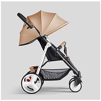 JYY Cochecito De Bebé De Moda Fácil De Llevar Plegable Baby ...
