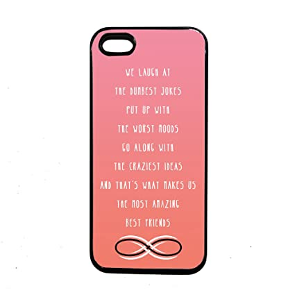 Best Friends Quote Thinshell Case Protective IPhone 5 5S