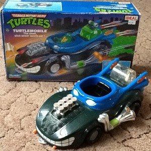 Amazon.com : Ninja Turtles Nitro Ooze Vehicle : Other ...