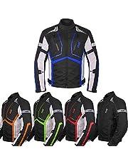 Motorcycle Jacket For Men Textile Motorbike Dualsport Enduro Motocross Racing Biker Riding CE Armored Waterproof All-Weather
