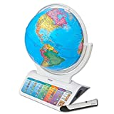 Oregon Scientific SG328 Smart Globe Infinity Educational World Geography Kids Learning Toy Space Planet Science Earths Inner Core Bluetooth Pen