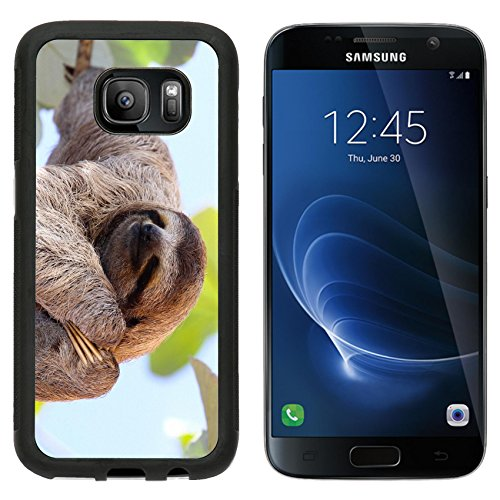 Premium South Sd Card (MSD Premium Samsung Galaxy S7 Aluminum Backplate Bumper Snap Case IMAGE ID 35577251 Happy Sloth)