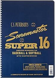 Cramer Scorebook, C.S. Peterson's Super 16, Baseball and Soft