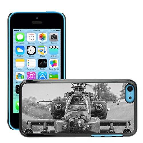 Premio Sottile Slim Cassa Custodia Case Cover Shell // V00001621 hélicoptère apache // Apple iPhone 5C