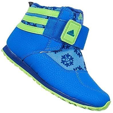 46d44c9a3d3f adidas Kid s adiFIT Zambat 2 Blue Blue Non Marking Winter Boots G96033 35   Amazon.co.uk  Shoes   Bags