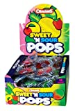 Charms Sweet & Sour Pops, 48-Count Lollipops (Pack of 2)