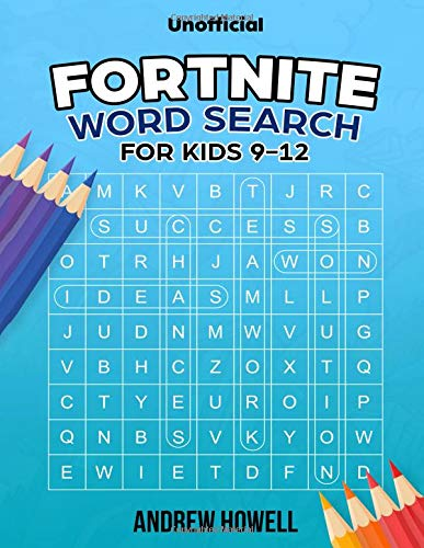 Fortnite Word Search For Kids: Fortnite Word Search For Kids