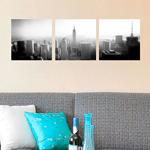 Nyc Art (Crearreda CR-46003 New York Panoramic Wall Decal)