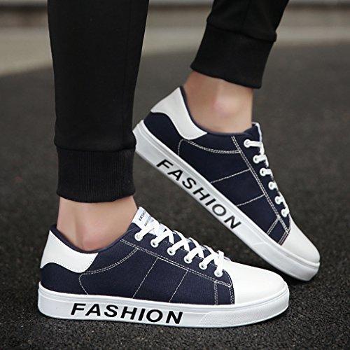 stile di da Color 39 da da Blue uomo studente di basse Scarpe Scarpe scarpe uomo da tavola Nuove Blue giovane YaNanHome tela Size Espadrillas Scarpe tendenza FAwqpp