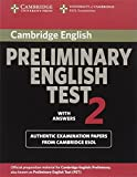 Cambridge Preliminary English Test 2 with Answers, Cambridge Esol, 0521754674