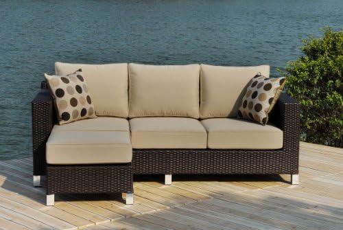 Amazon Com Sirio Ms014 Deep Seating Set With Sunbrella Fabric 2 Piece Outdoor And Patio Furniture Sets Garden Outdoor