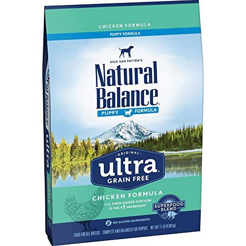 Natural Balance Original Ultra Grain Free Puppy Dog Food, Chicken Formula, 11-Pound Bag