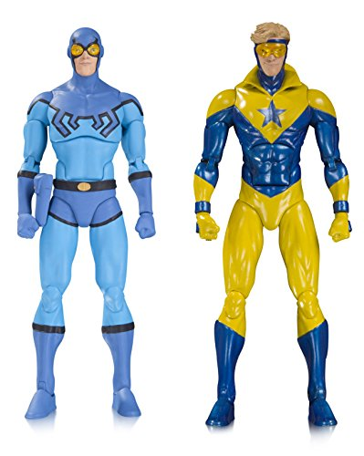 DC Collectibles Icons Blue Beetle & Booster Gold Action Figure (2 Pack)