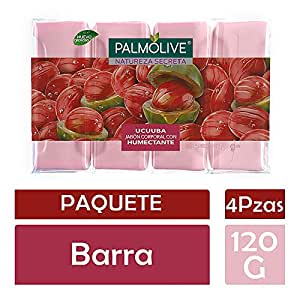 Jabón de Tocador Palmolive Naturaleza Secreta Ucuuba en Barra, 120 g, 4 Piezas