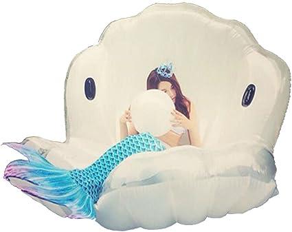 Amazon.com: Inflable Flotador natación Sida piscina gigante ...