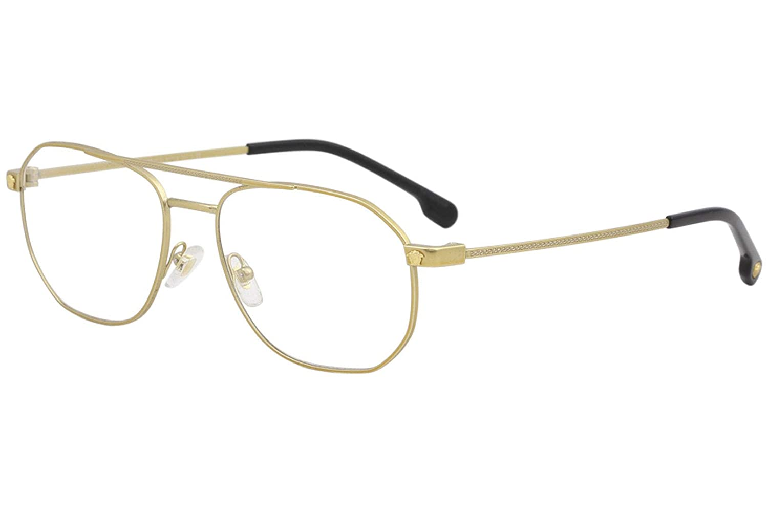 0fa9475140 Amazon.com  Eyeglasses Versace VE 1252 1428 TRIBUTE GOLD  Clothing