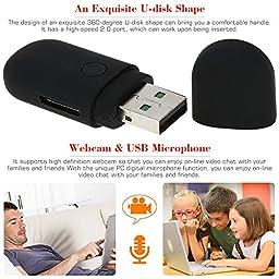 KKmoon 1280*960 Mini U-Disk DV Video TF Card Slot PC Portable Mini USB Digital Camera Record Motion Detection 30fps