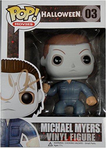 John Carpenter Signed Autograph Funko Pop Doll Halloween Michael Myers GV862272 (Halloween Movie Props)