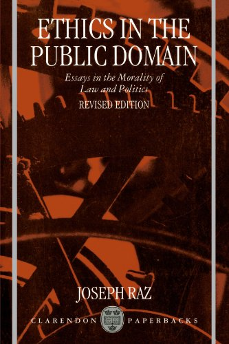 Ethics in the Public Domain: Essays in the Morality of Law and Politics -  Raz, Joseph, Paperback