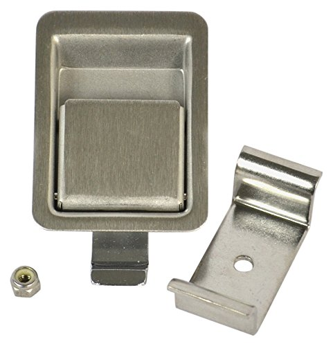 Southco Inc 64-11-30 Flush Paddle Latch Grip Range .11 to .14, 1.88 Long x 1.44 W Installation Hole (Pack of 4) by Southco