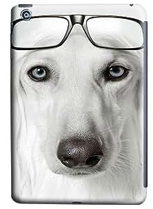 iPad Mini Case and Cover -Dog Wearing Glasses PC case Cover for iPad Mini