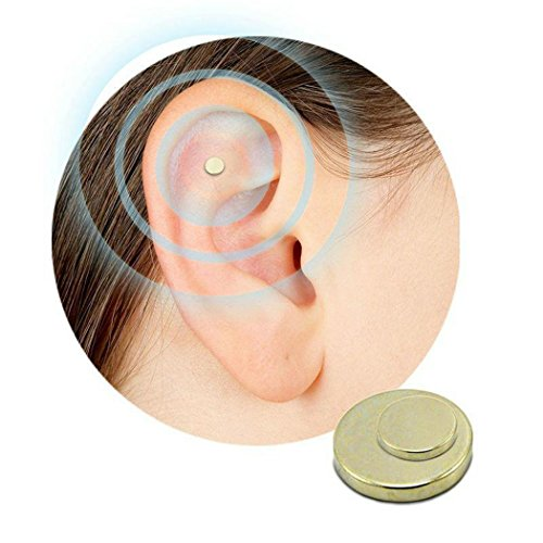 Quit Smoking Ear Magnet Cigarettes Magnetic Ear Acupressure Zero Stop Smoke by MYEDO (Image #5)